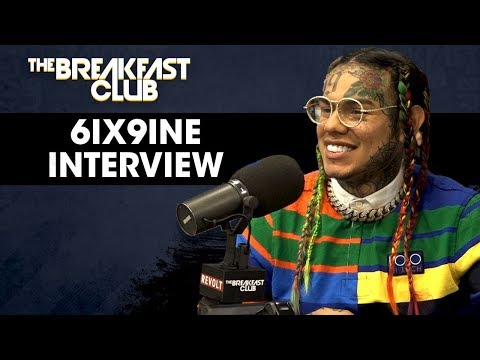 "Interview : Tekashi 6ix9ine ""Imma sit there and entertain ya'll but i'm not gonna sit there & die for ya'll + Explains Why He Fired His Team ""Treyway"" , Recent Shooting & New Album"