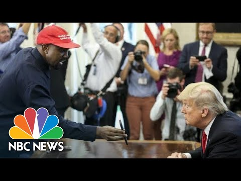 Full Video: Kanye West's Meeting With President Donald Trump At The White House | NBC News