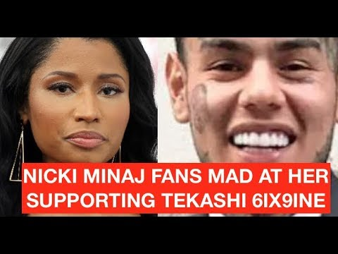 Nicki Minaj DRAGGED For Showing Support for Tekashi 6ix9ine and His Legal Issues With Feds
