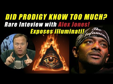 """Interview with Alex Jones on Infowars :""""DID PRODIGY KNOW TOO MUCH?"""" (Talks about Illuminati, exposed)"""