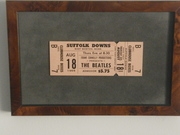 1966 Suffolk Downs Unused Ticket