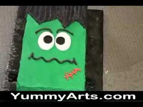 Easy Halloween Cakes