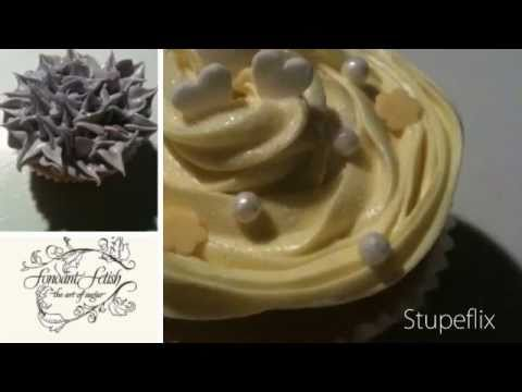 Fondant Fetish - A montage of cupcakes