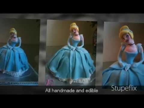 Cinderella & her Coach cake - by Fondant Fetish