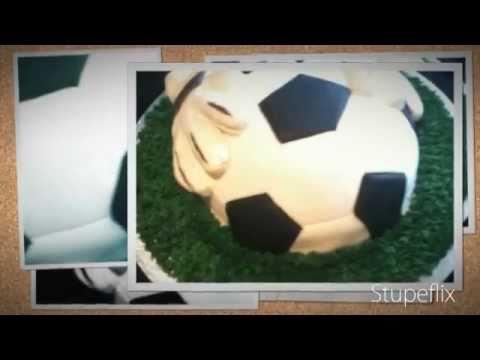 Fondant Fetish - Josh's Goalie Gloves cake
