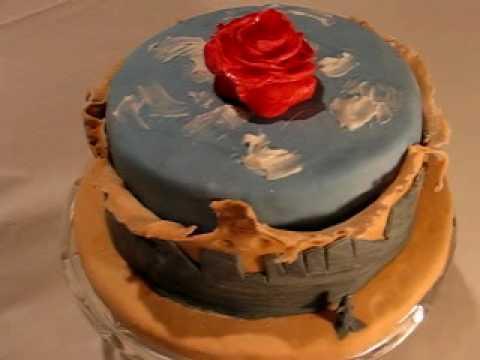 Mediative Rose Cake