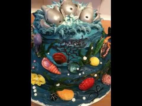 Fondant Fetish - 360 degrees of underwater cake