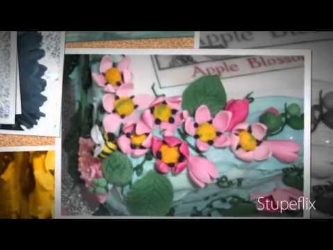 Fondant Fetish - Apple Blossom Fairy cake