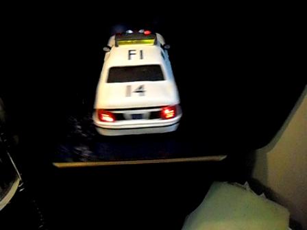 State Trooper car Cake