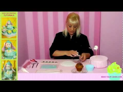 Cupcake Decorating Ideas: How to Decorate Cupcakes with Fondant, Gum Paste & Frosting - English Dub