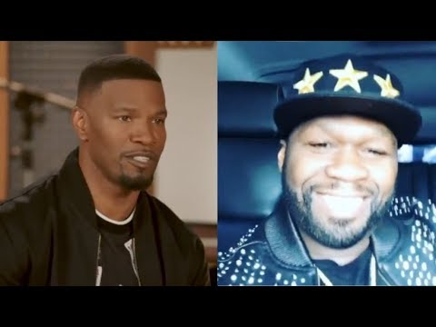 50 Cent Reacts To Jamie Foxx Slapping A Woman With His Genitals In The Face