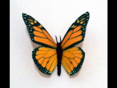 Edible Butterflies--Icing Sheet Wings