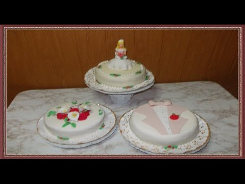 HOW TO MAKE SUGAR PASTE BRIDE