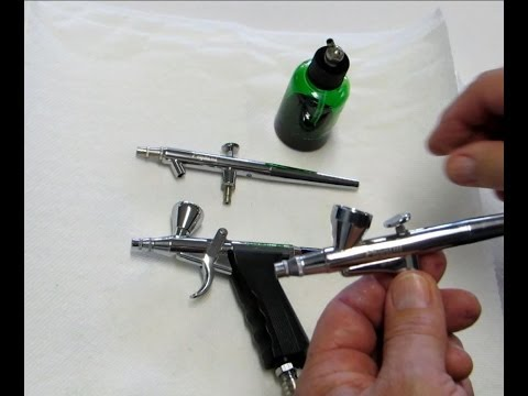 Cake Decorating Airbrush--Trigger & Siphon Style Airbrushes--Part 8