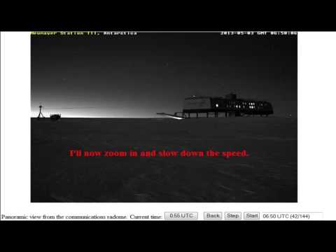 ✔Neumayer Station III Showing Enormous Celestial Object! - May 3, 2013