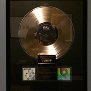 Nirvana Insecticide Gold Record Presented to Geffen Records