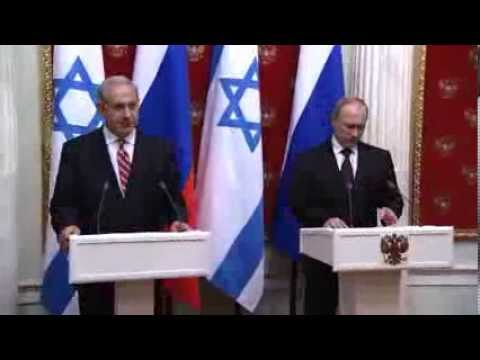 Joint Press Conference Following Meeting Between PM Netanyahu and Russian President Putin