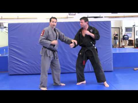 Jujitsu - 3 Responses to an attack