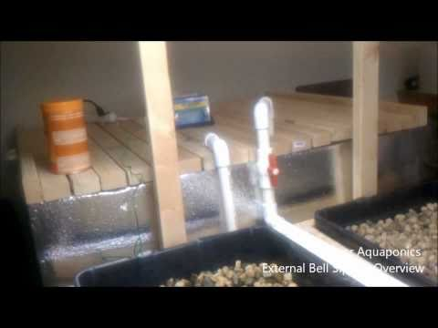 Indoor Aquaponics - External Bell Siphon Overview (Theory)