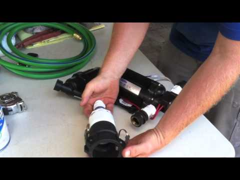Building a sprayer