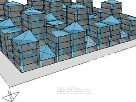 Mega Complex Greenhouse Vertical Farming