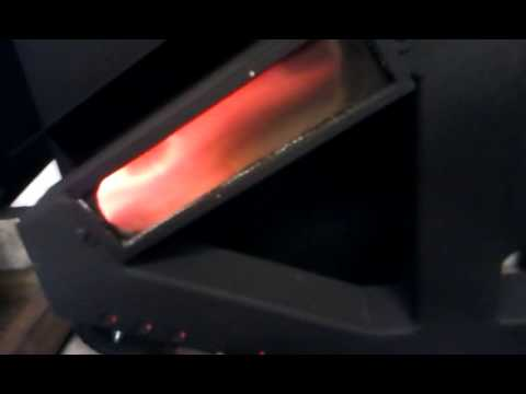 wiseway pellet stove temp control how it works