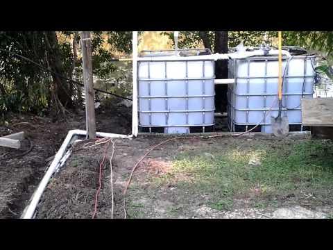AquaBiotic Garden Aquaponics Flow Test