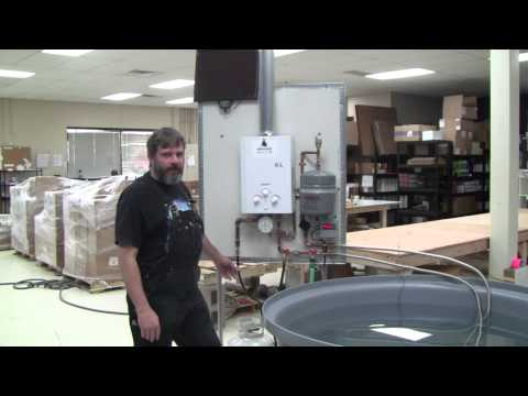 AquaHeat Gas-Fired Hydronic Heating System for Aquaponics