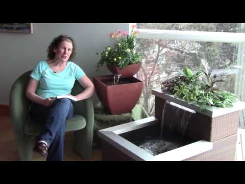 AquaDesigner Aquaponic Living Fountains