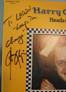 "Harry Chapin Signed and Inscribed ""Taxi"""