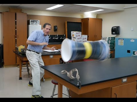Physics of toys- Cup Flyers // Homemade Science with Bruce Yeany