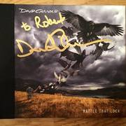 David Gilmour - Rattle That Lock - signed CD