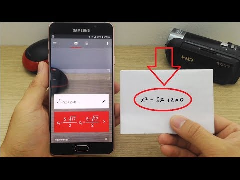 Awesome Camera Calculator for Android - PhotoMath