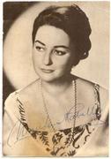 Montserrat Caballé Autograph / Autógrafo