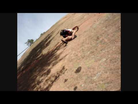 Climbing at Red Rock Canyon