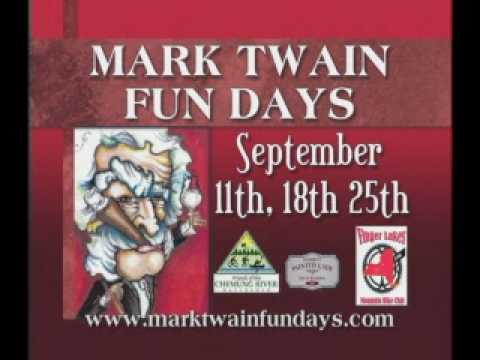 Mark Twain Fun Days
