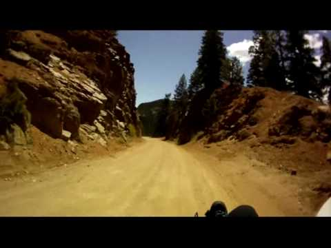 Up Cheyenne Canyon, down Gold Camp Road