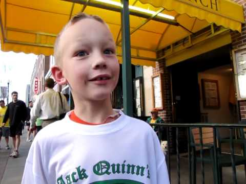 Young runner worked hard to earn Jack Quinn's Running Club shirt