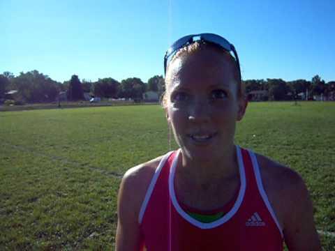 Interview with Cassie Slade, Half the Sky 5K women's race winner
