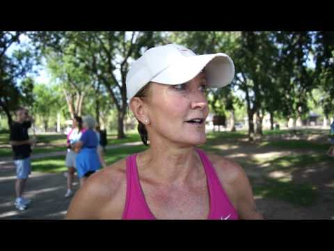Michelle Blessing talks about her return to triathlon competition