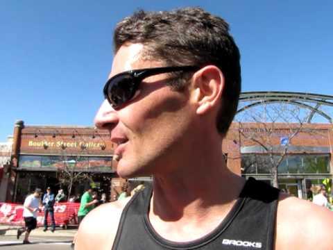 Justin Chaston, 42, wins 5K on St. Patrick's Day