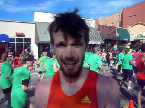 Interview with Tommy Neal, winner of the 5K on St. Patrick's Day