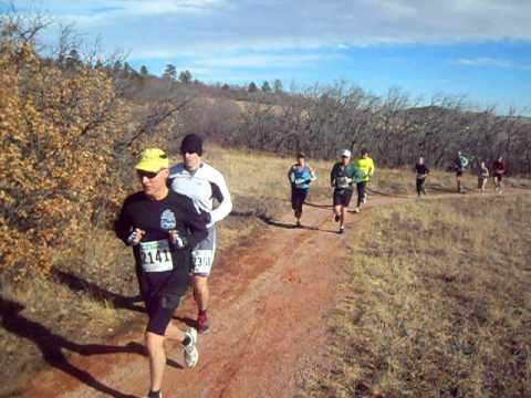 Start of the Pikes Peak Road Runners' Winter Series No. 1, 7 mile