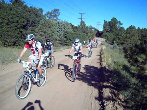 Start of the ProCycling Palmer Park 50, Sept. 18 in Colorado Springs