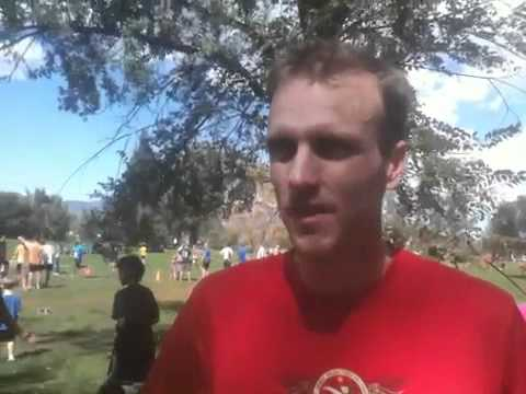 Justin Ricks on his win at Monument Valley Park