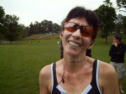 Louise Kriel talks about winning the inaugural Jack Quinn's Running Club 5K