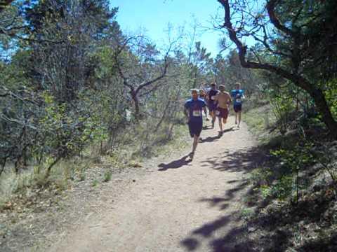 Start of the Big Big Mountain Trail Run 10K