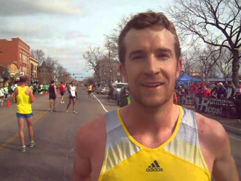 Scott Dahlberg talks about winning the 5K on St. Patrick's Day in Colorado Springs