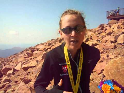 Kim Dobson talks about her record-setting day in the Pikes Peak Ascent