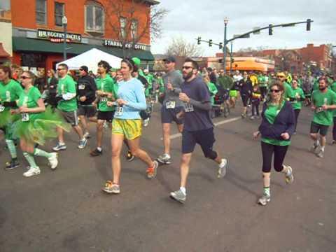 Start of the 2013 5K on St. Patrick's Day